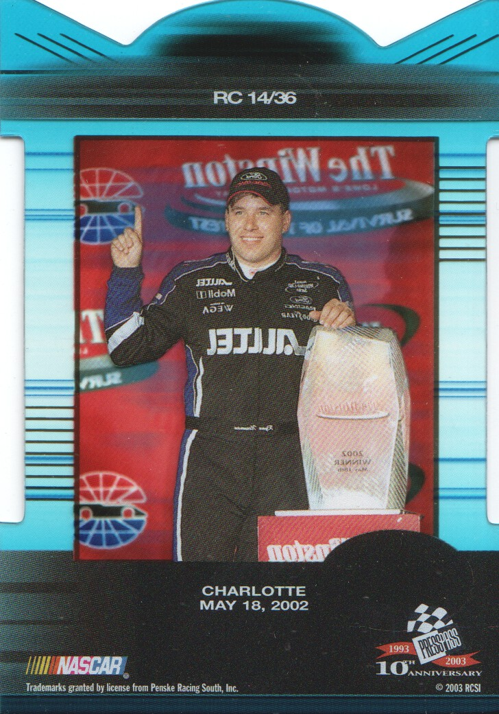 2003-Press-Pass-Eclipse-Inserts-NASCAR-Racing-Cards-Pick-From-List thumbnail 17