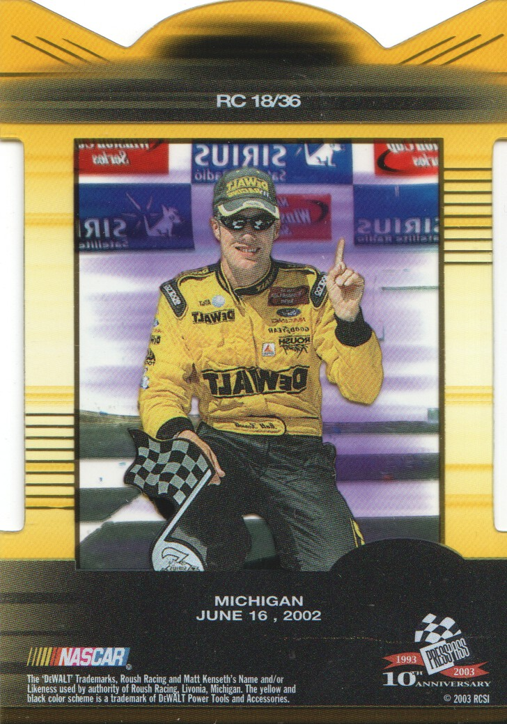 2003-Press-Pass-Eclipse-Inserts-NASCAR-Racing-Cards-Pick-From-List thumbnail 21