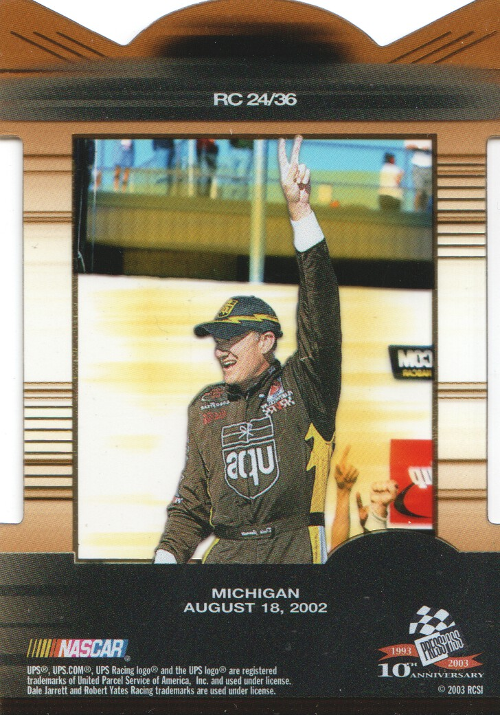 2003-Press-Pass-Eclipse-Inserts-NASCAR-Racing-Cards-Pick-From-List thumbnail 27