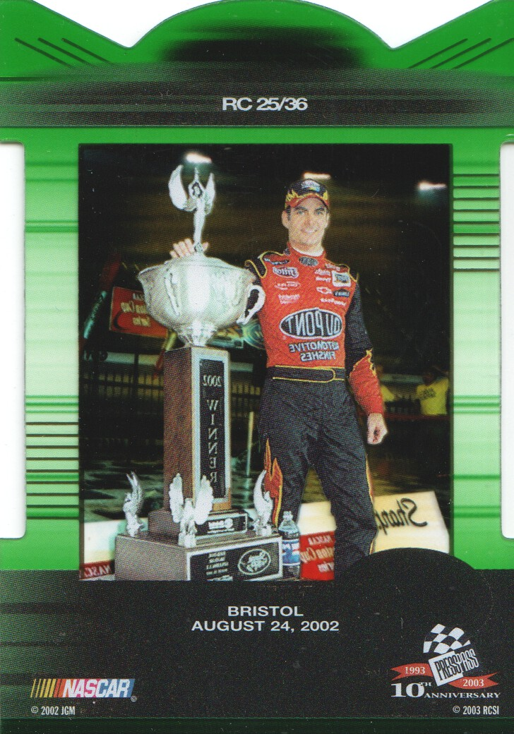 2003-Press-Pass-Eclipse-Inserts-NASCAR-Racing-Cards-Pick-From-List thumbnail 29