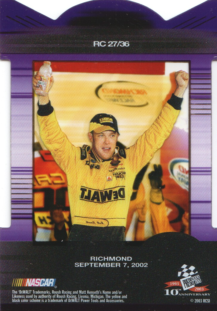 2003-Press-Pass-Eclipse-Inserts-NASCAR-Racing-Cards-Pick-From-List thumbnail 31