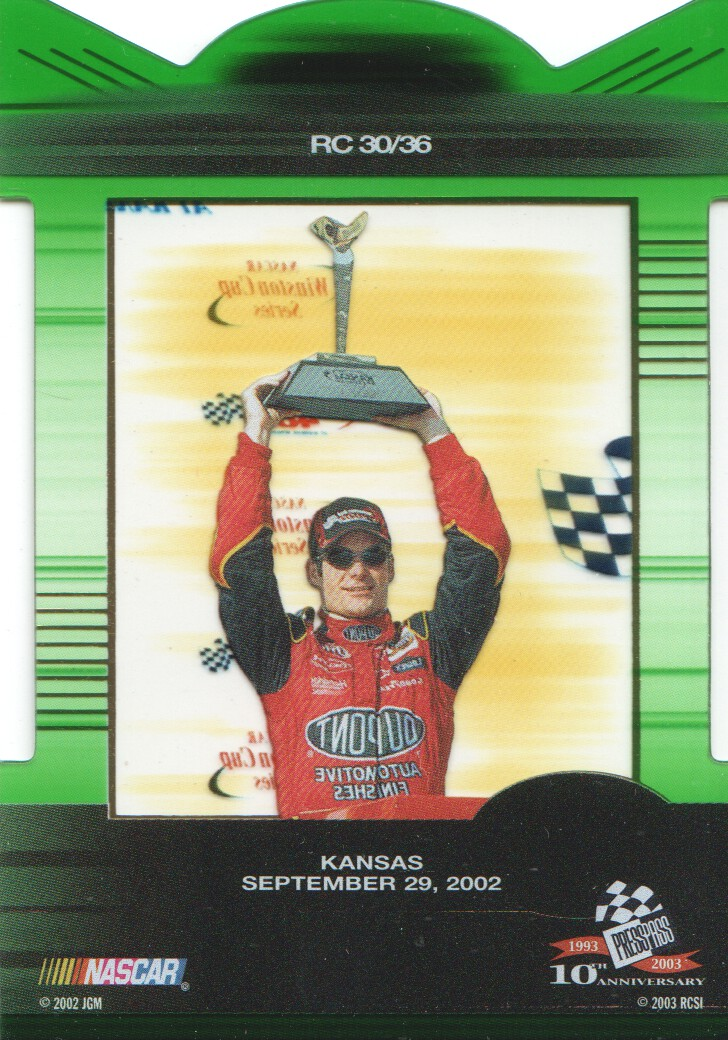 2003-Press-Pass-Eclipse-Inserts-NASCAR-Racing-Cards-Pick-From-List thumbnail 33