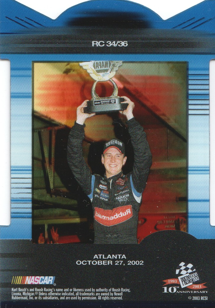 2003-Press-Pass-Eclipse-Inserts-NASCAR-Racing-Cards-Pick-From-List thumbnail 35