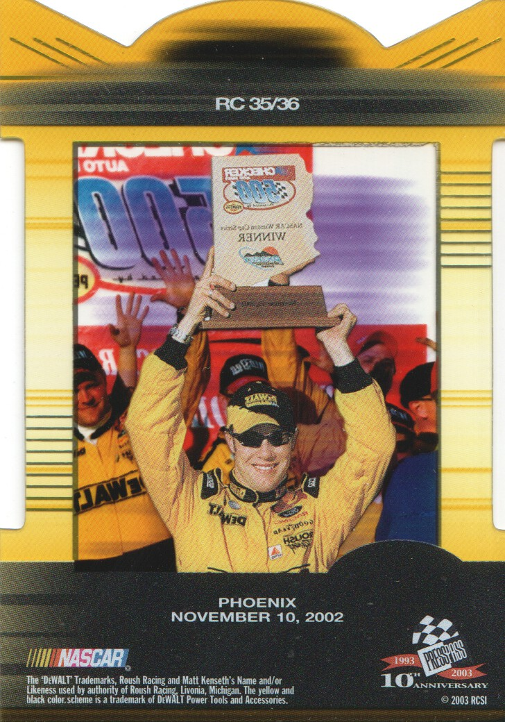 2003-Press-Pass-Eclipse-Inserts-NASCAR-Racing-Cards-Pick-From-List thumbnail 37