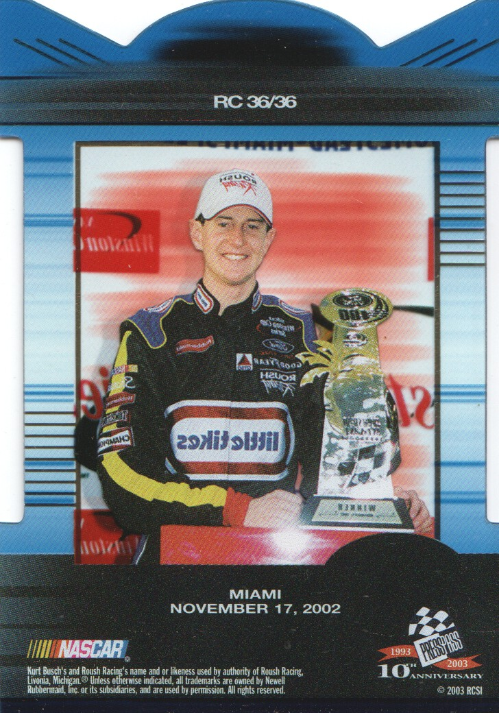 2003-Press-Pass-Eclipse-Inserts-NASCAR-Racing-Cards-Pick-From-List thumbnail 39