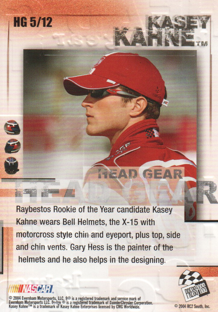 2004-VIP-Inserts-NASCAR-Racing-Cards-Pick-From-List thumbnail 9