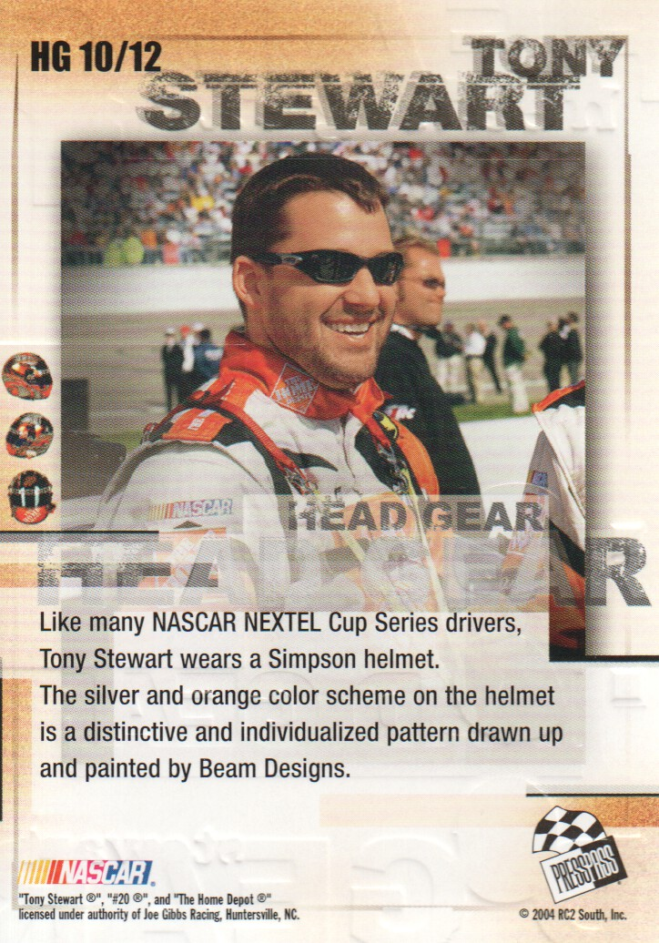 2004-VIP-Inserts-NASCAR-Racing-Cards-Pick-From-List thumbnail 11