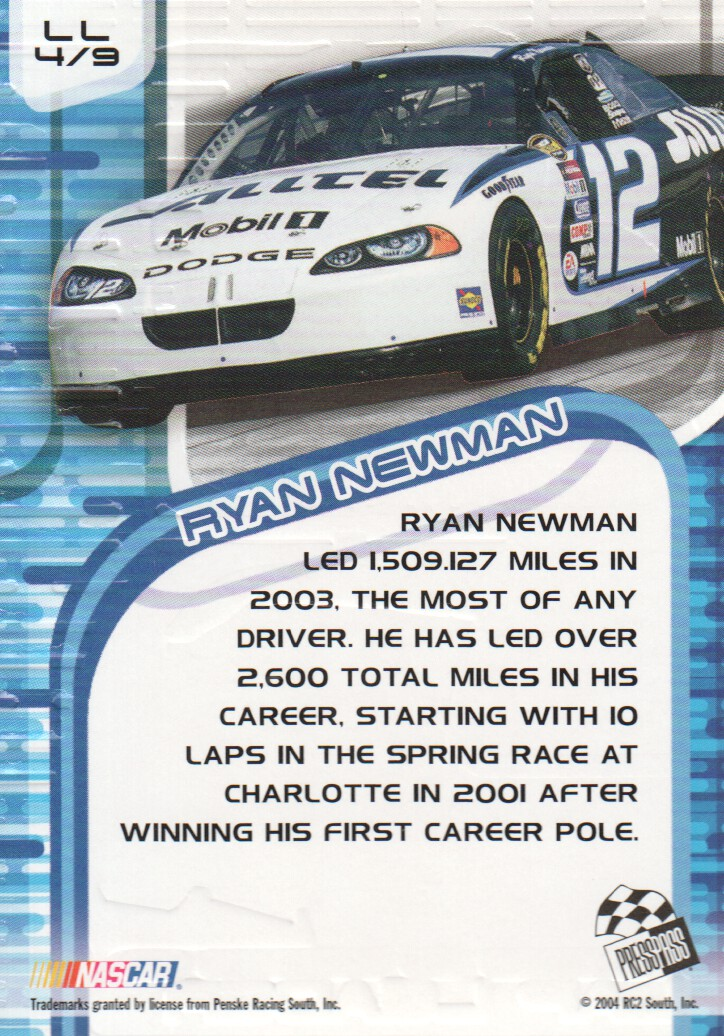 2004-VIP-Inserts-NASCAR-Racing-Cards-Pick-From-List thumbnail 15