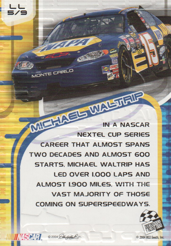 2004-VIP-Inserts-NASCAR-Racing-Cards-Pick-From-List thumbnail 17