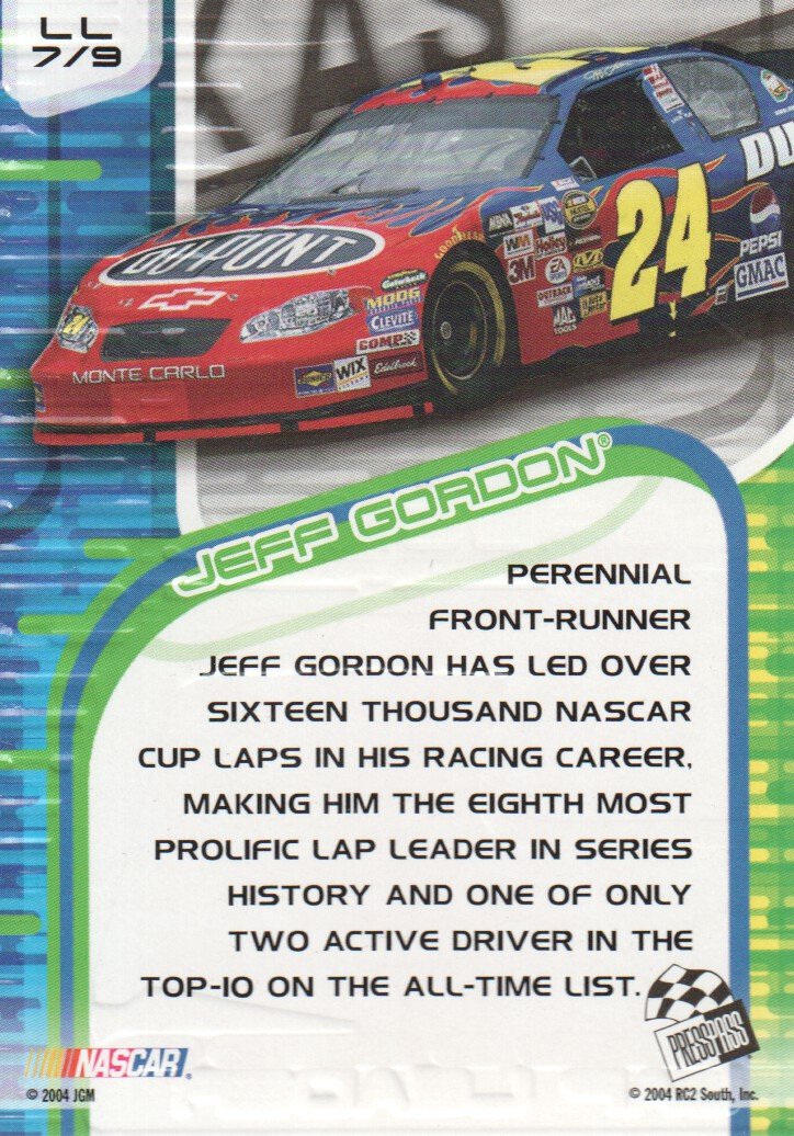 2004-VIP-Inserts-NASCAR-Racing-Cards-Pick-From-List thumbnail 19