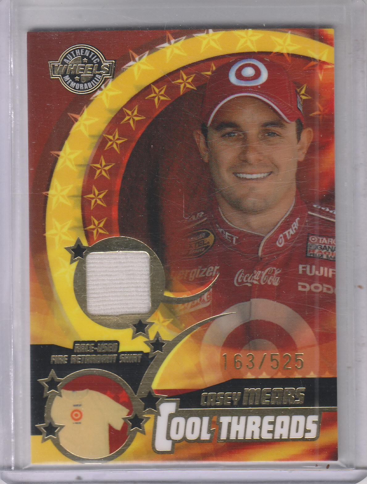 2004 Wheels American Thunder Cool Threads #CT10 Casey Mears