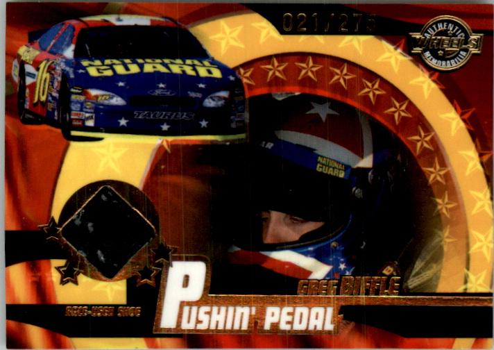 2004 Wheels American Thunder Pushin Pedal #PP1 Greg Biffle