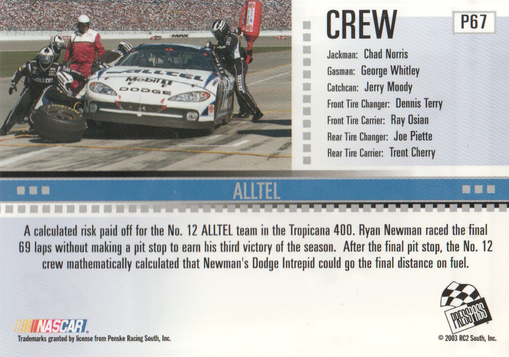 2004-Press-Pass-Parallels-NASCAR-Racing-Cards-Pick-From-List thumbnail 53