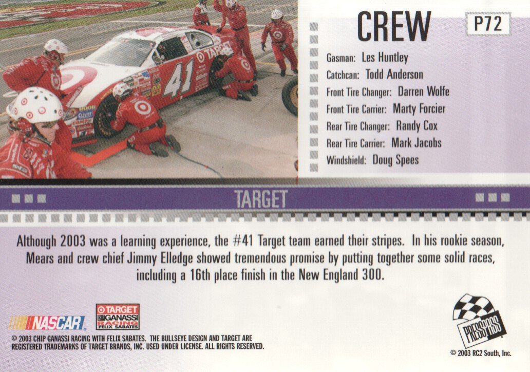 2004-Press-Pass-Parallels-NASCAR-Racing-Cards-Pick-From-List thumbnail 57