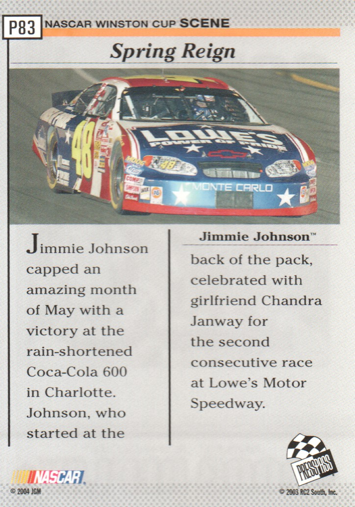 2004-Press-Pass-Parallels-NASCAR-Racing-Cards-Pick-From-List thumbnail 71