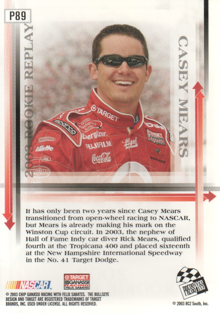2004-Press-Pass-Parallels-NASCAR-Racing-Cards-Pick-From-List thumbnail 79