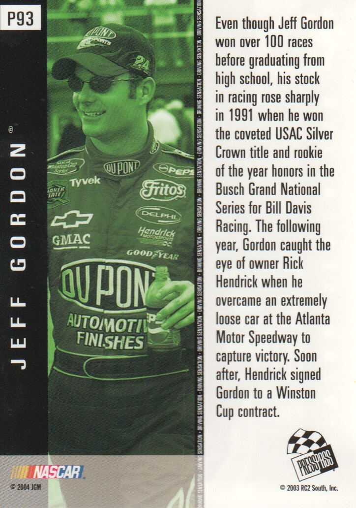 2004-Press-Pass-Parallels-NASCAR-Racing-Cards-Pick-From-List thumbnail 83