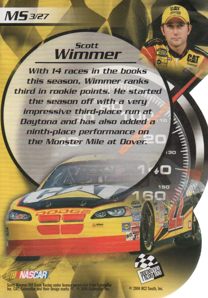 2004-VIP-Inserts-NASCAR-Racing-Cards-Pick-From-List thumbnail 23