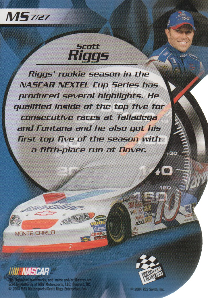 2004-VIP-Inserts-NASCAR-Racing-Cards-Pick-From-List thumbnail 27