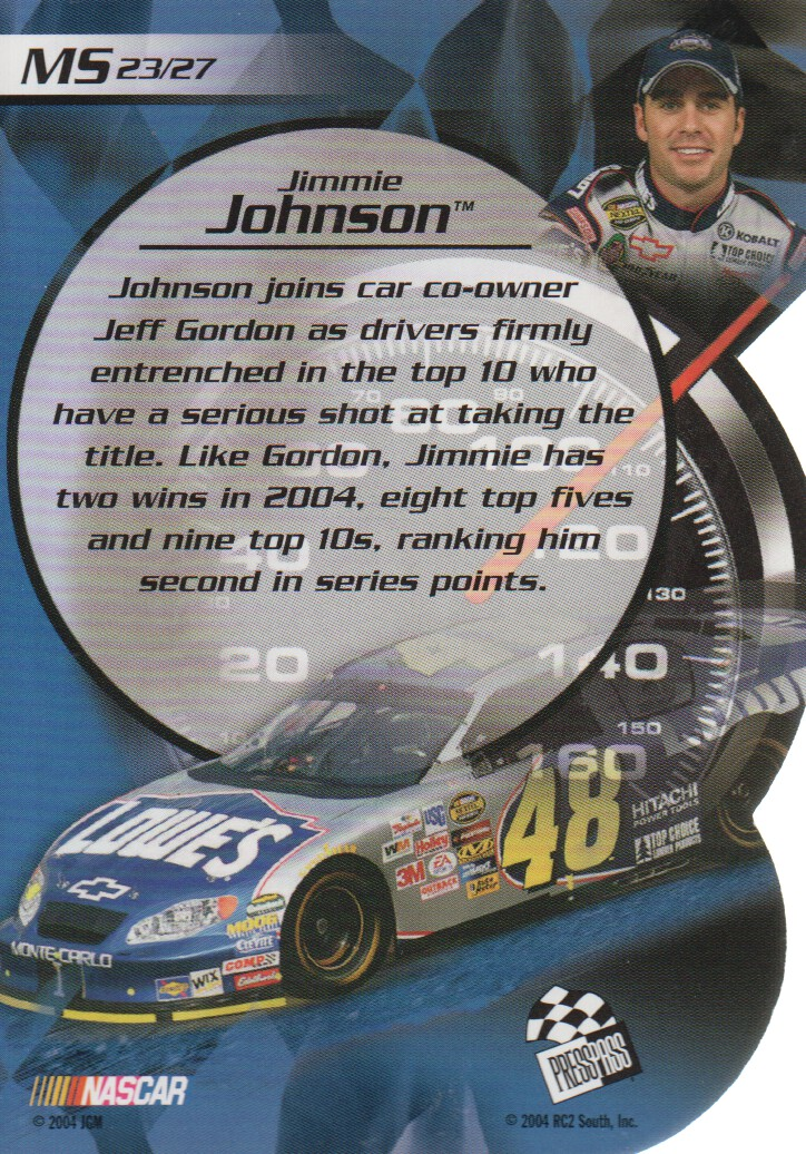 2004-VIP-Inserts-NASCAR-Racing-Cards-Pick-From-List thumbnail 33