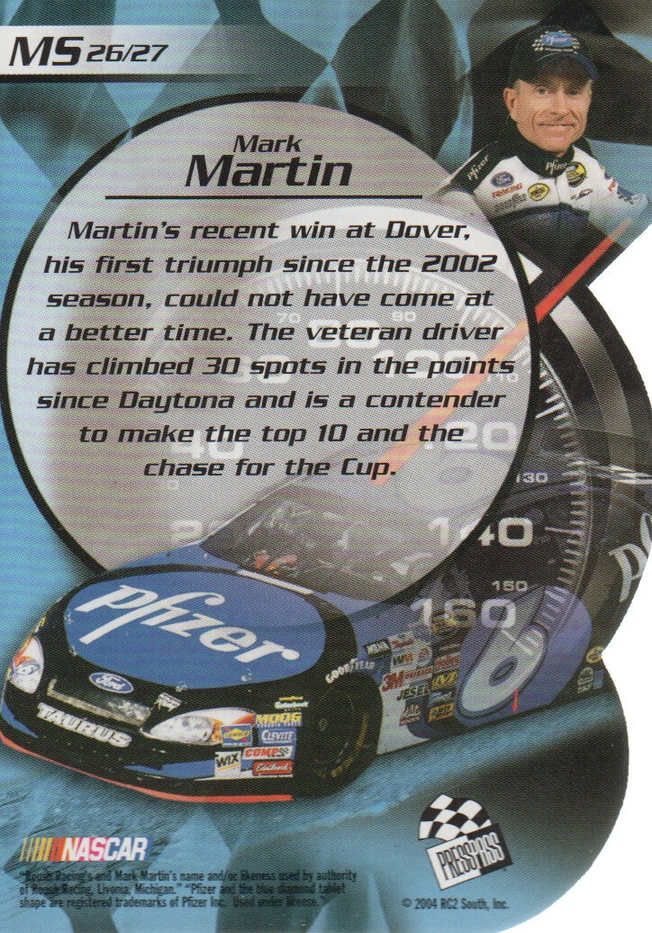 2004-VIP-Inserts-NASCAR-Racing-Cards-Pick-From-List thumbnail 35