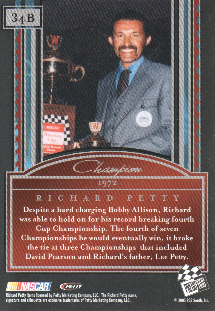 2005-Press-Pass-Legends-Parallels-NASCAR-Racing-Cards-Pick-From-List thumbnail 31
