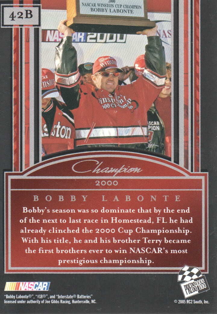 2005-Press-Pass-Legends-Parallels-NASCAR-Racing-Cards-Pick-From-List thumbnail 33
