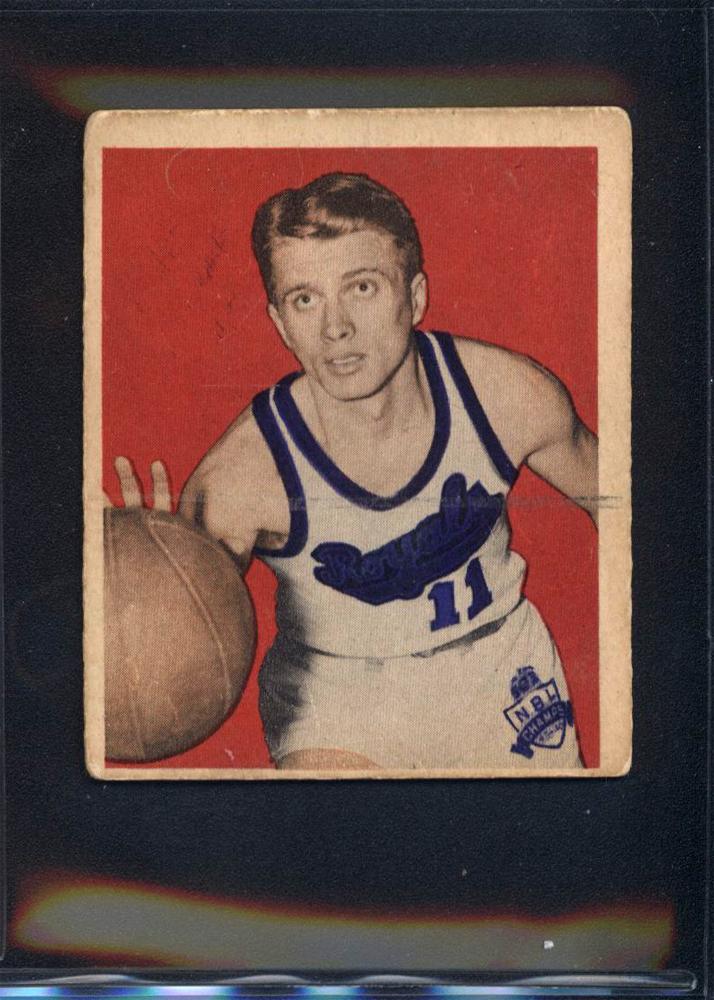 1948 Bowman #10 Bob Davies RC