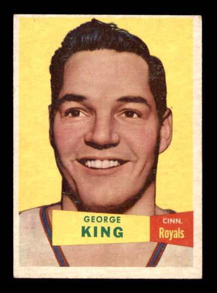 1957-58 Topps #6 George King DP RC