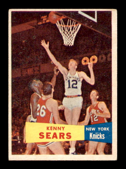 1957-58 Topps #7 Kenny Sears DP RC