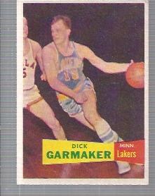 1957-58 Topps #23 Dick Garmaker