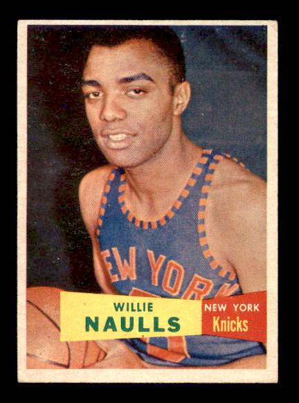 1957-58 Topps #29 Willie Naulls RC