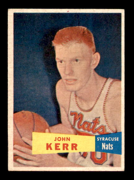 1957-58 Topps #32 Johnny Red Kerr RC