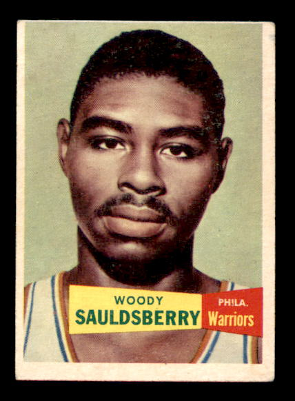 1957-58 Topps #34 Woody Sauldsberry DP RC