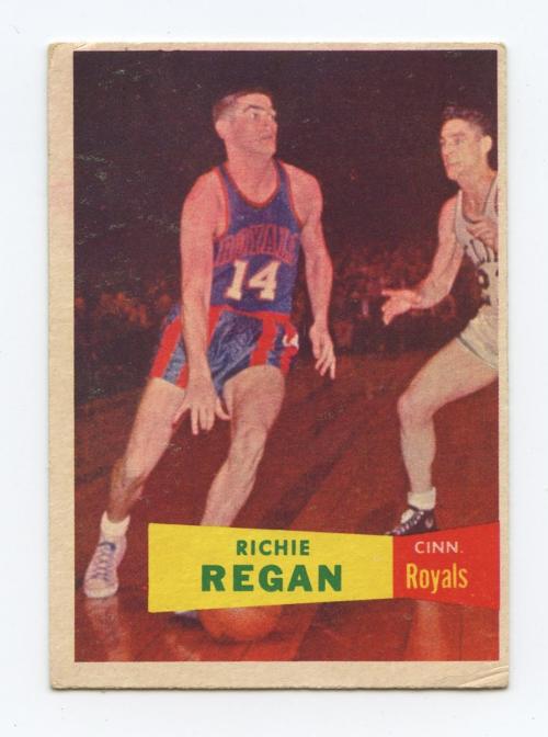 1957-58 Topps #50 Richie Regan RC