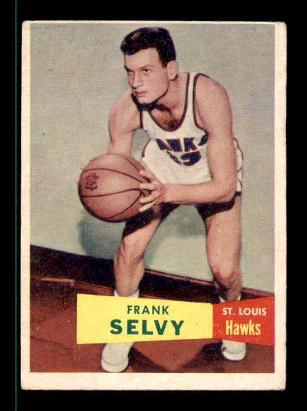 1957-58 Topps #51 Frank Selvy DP RC