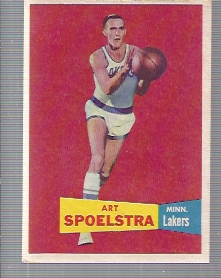 1957-58 Topps #52 Art Spoelstra DP