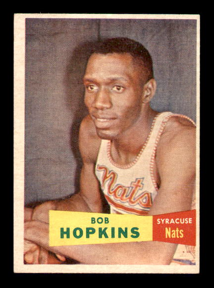 1957-58 Topps #53 Bob Hopkins RC