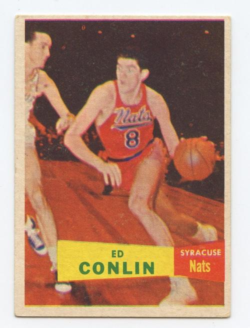1957-58 Topps #58 Ed Conlin RC