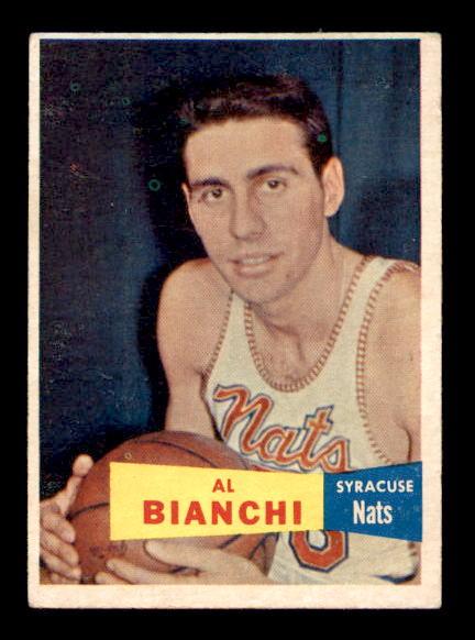 1957-58 Topps #59 Al Bianchi RC