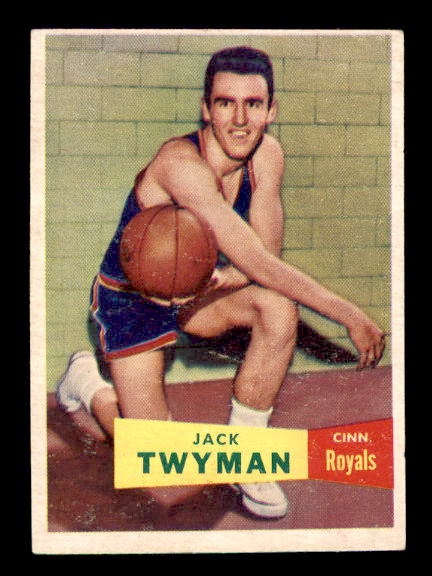 1957-58 Topps #71 Jack Twyman DP RC