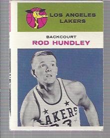 1961-62 Fleer #21 Rod Hundley