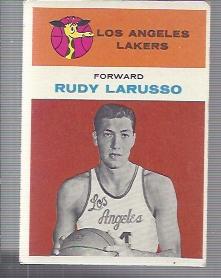 1961-62 Fleer #26 Rudy LaRusso RC