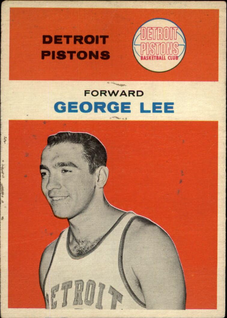 1961-62 Fleer #27 George Lee
