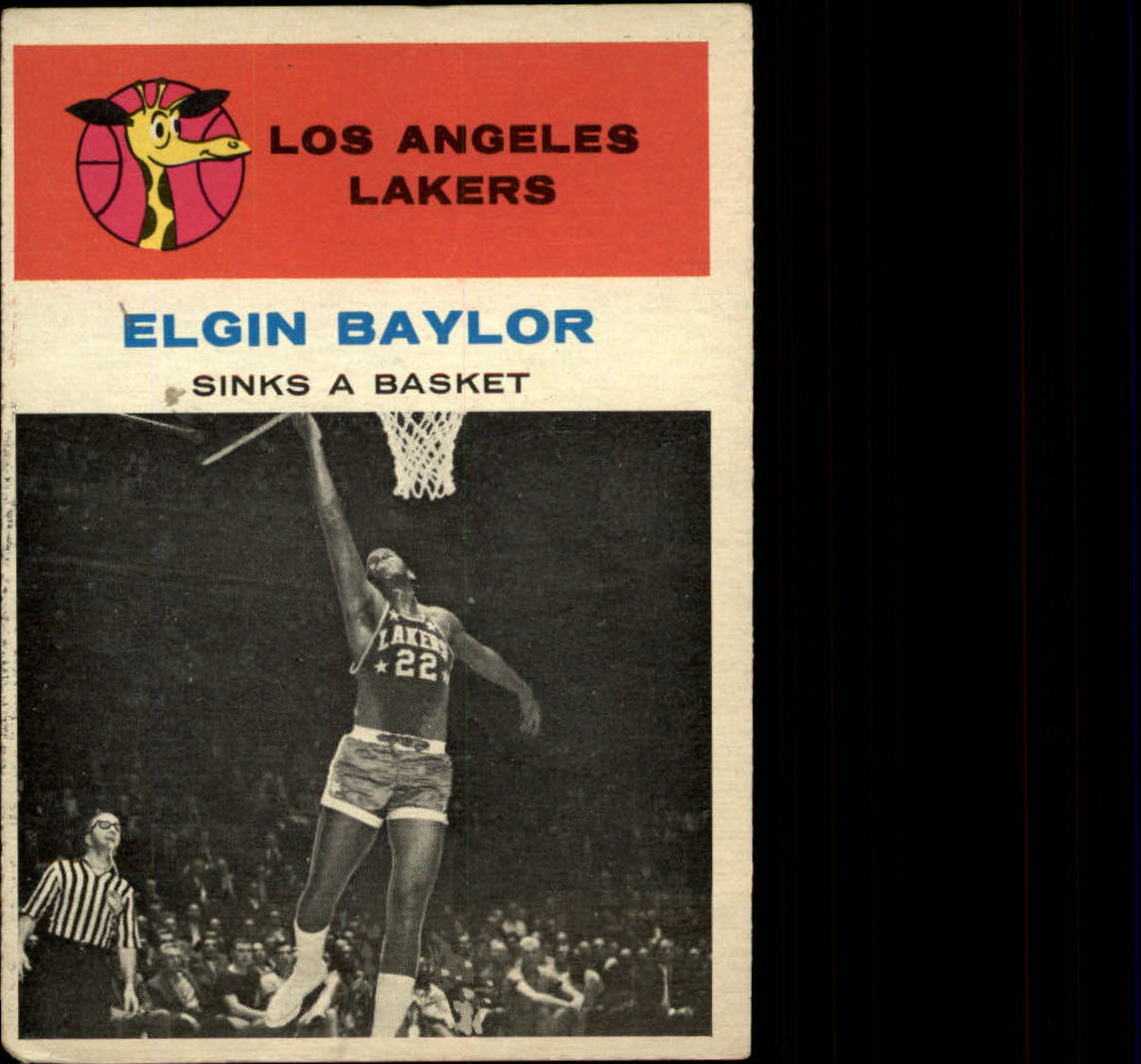 1961-62 Fleer #46 Elgin Baylor IA
