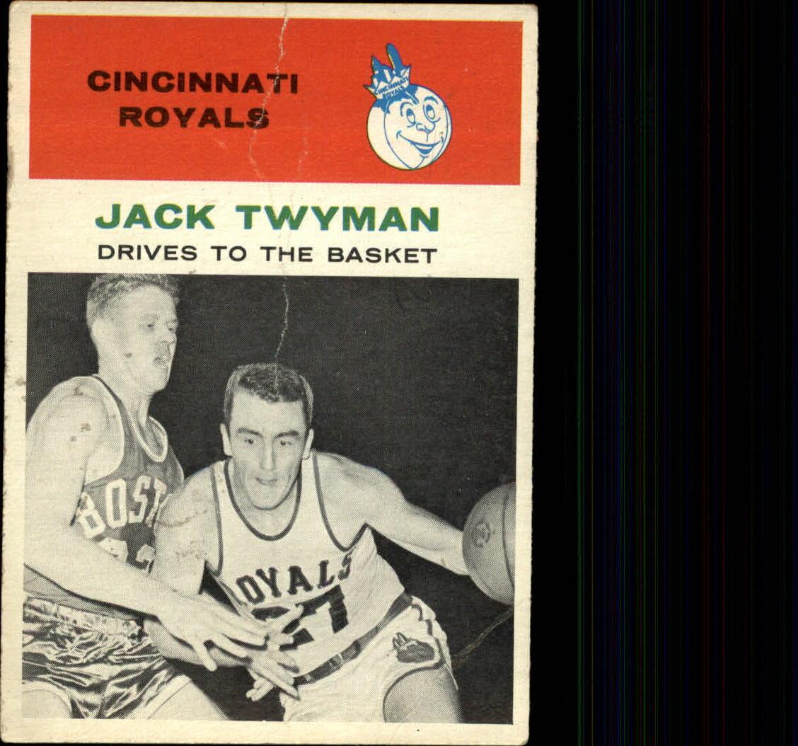 1961-62 Fleer #65 Jack Twyman IA