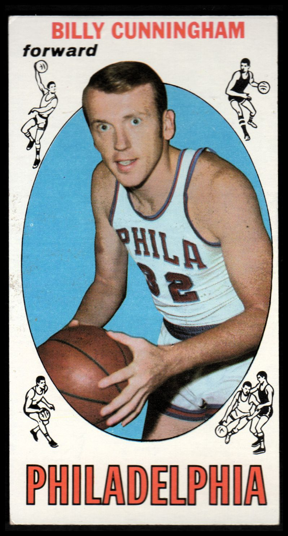 1969-70 Topps #40 Billy Cunningham RC