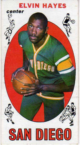 1969-70 Topps #75 Elvin Hayes RC