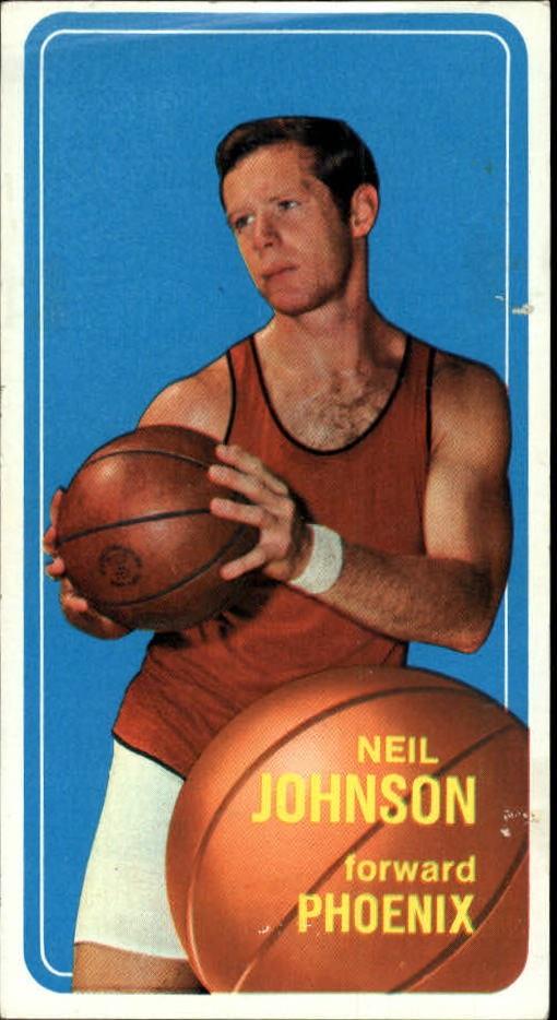 1970-71 Topps #17 Neil Johnson