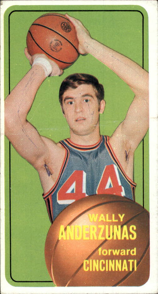 1970-71 Topps #21 Wally Anderzunas
